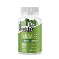 CBD Gummies with Turmeric & Spirulina 300mg