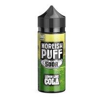 Lemon & Lime Cola by Moreish Puff Soda
